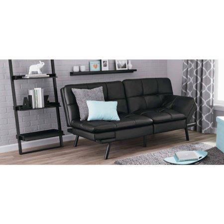 Sable Storage Ottoman Bench Folding Faux Leather Ottoman