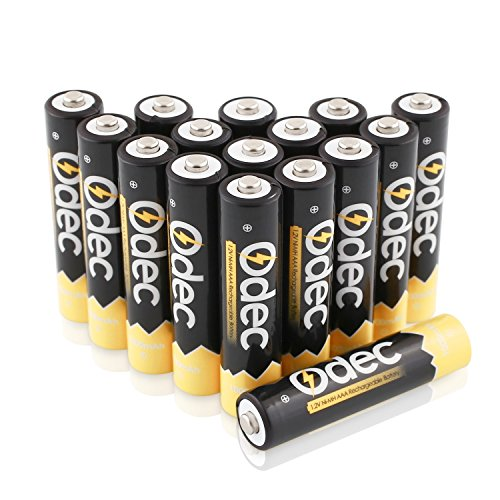 Odec Battery Charger For AA, AAA, AAAA Ni-MH, Ni-Cd
