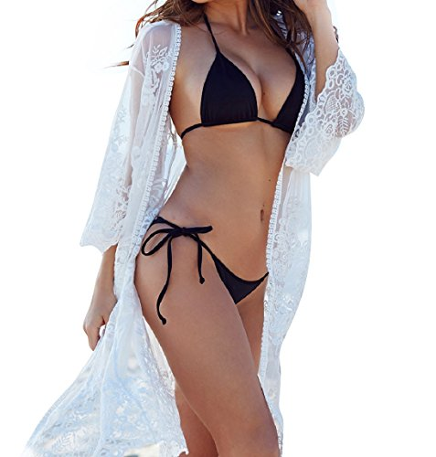 5e087bfecdf ... of beach wear strictly to make sure high quality. Size: size m:  shoulder 18in, Bust 43in, Length 43in. Loose fit. This long sexy bathing  suit cover up ...